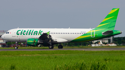 A picture of PKGLK - Airbus A320214 - Citilink - © Wilbert Tana