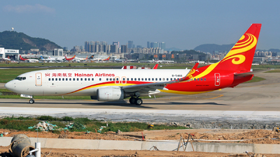 B-5466 - Boeing 737-84P - Hainan Airlines