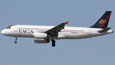 N494TA - Airbus A320-233 - TACA International Airlines