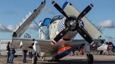 N188RH - Douglas EA-1F Skyraider - Private