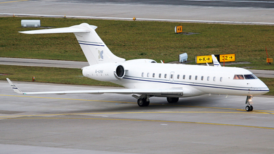 B-KMF - Bombardier BD-700-1A11 Global 5000 - Private