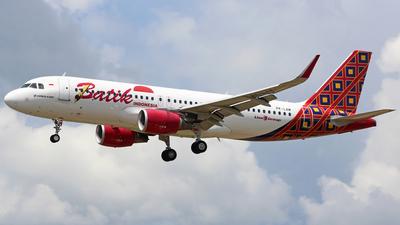 PK-LAM - Airbus A320-214 - Batik Air