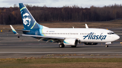 A picture of N619AS - Boeing 737790 - Alaska Airlines - © Zavier Cordova