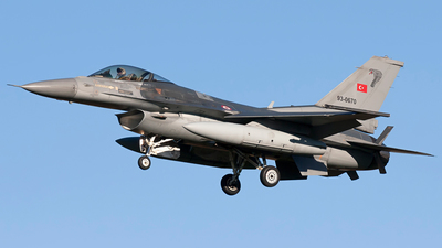 93-0670 - Lockheed Martin F-16C Fighting Falcon - Turkey - Air Force