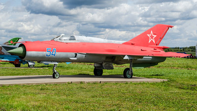 54 - Mikoyan-Gurevich MiG-21PFM Fishbed - Soviet Union - Air Force