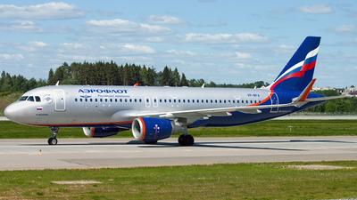 VP-BFA - Airbus A320-214 - Aeroflot
