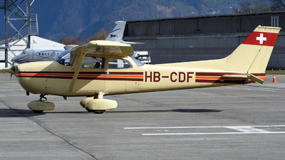 HB-CDF - Reims-Cessna F172M Skyhawk - Private