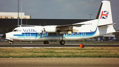 G-BHMW - Fokker F27-200 Friendship - Air UK