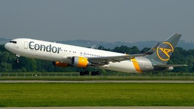 A picture of DABUO - Boeing 7673Q8(ER) - Condor - © Hanys