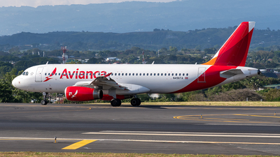 A picture of N496TA - Airbus A320233 - Avianca - © Cristian Quijano