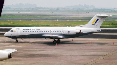 003 - Fokker 70 - Myanmar - Air Force