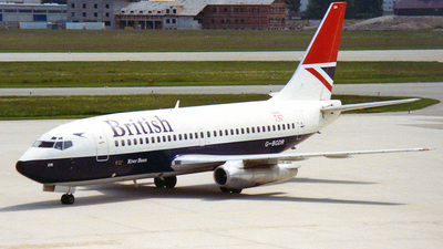 G-BGDR - Boeing 737-236(Adv) - British Airways