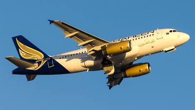 AP-BNI - Airbus A319-132 - Shaheen Air International