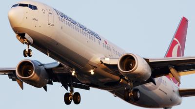 A picture of TCJYL - Boeing 7379F2(ER) - Turkish Airlines - © Dejan Milinkovic