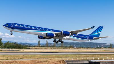 4K-AI08 - Airbus A340-642ACJ - Azerbaijan - Government