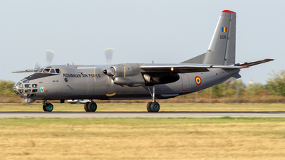 1105 - Antonov An-30 - Romania - Air Force