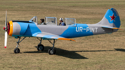 UR-PINT - Yakovlev Yak-52 - Private