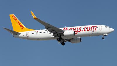 TC-CPS - Boeing 737-8GJ - Pegasus Airlines