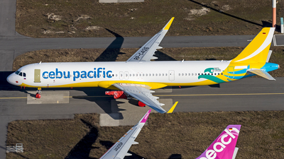 D-AVZE - Airbus A321-271NX - Cebu Pacific Air