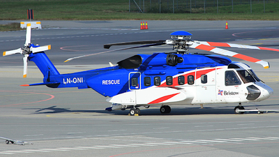 A picture of LNONI - Sikorsky S92A Helibus - Bristow Helicopters - © Witold Ozimek