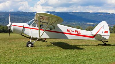 HB-PDL - Piper PA-18-180M Super Cub - Groupe Genevois de vol à voile de Montricher
