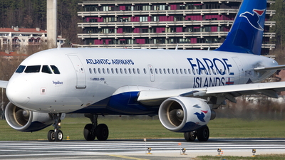 OY-RCI - Airbus A319-112 - Atlantic Airways