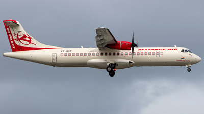 VT-RKF - ATR 72-212A(600) - Alliance Air
