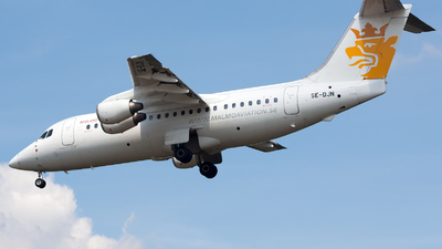 SE-DJN - British Aerospace Avro RJ85 - Malmö Aviation