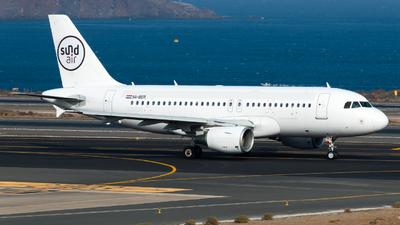 A picture of 9ABER - Airbus A319112 - Sundair - © Pablo Gonzalez de Leon