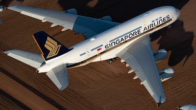 A picture of 9VSKT - Airbus A380841 - Singapore Airlines - © Mitch Coad