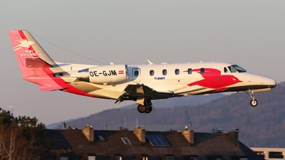 OE-GJM - Cessna 560XL Citation XLS - Pink Sparrow