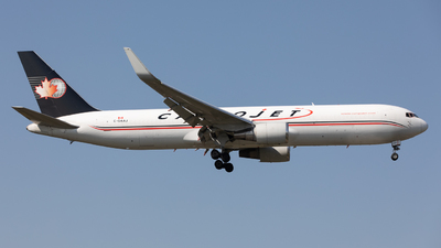 A picture of CGAAJ - Boeing 767323(ER)(BDSF) - Cargojet Airways - © Robert Smith