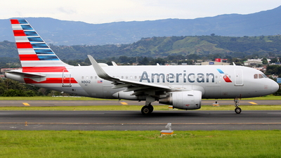 A picture of N9012 - Airbus A319115 - American Airlines - © Jorge andres solano sancho