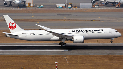 JA878J  - Boeing 787-9 Dreamliner - Japan Airlines (JAL)