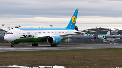 UK78706 - Boeing 787-8 Dreamliner - Uzbekistan Airways