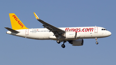 A picture of TCNCB - Airbus A320251N - Pegasus Airlines - © Bora Polater