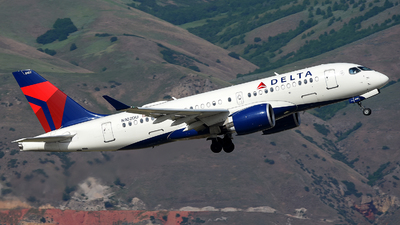 A picture of N102DU - Airbus A220100 - Delta Air Lines - ©  JC