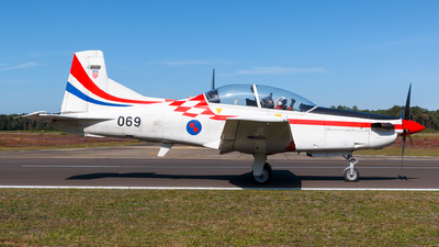 069 - Pilatus PC-9M - Croatia - Air Force