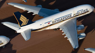 A picture of 9VSKQ - Airbus A380841 - Singapore Airlines - © Mitch Coad