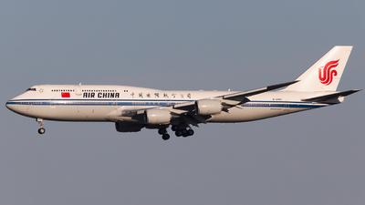 A picture of B2480 - Boeing 74789L - Air China - © Ren LanMing