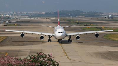3B-NBI - Airbus A340-313X - Air Mauritius