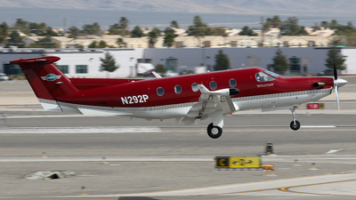 N292P - Pilatus PC-12/45 - Private