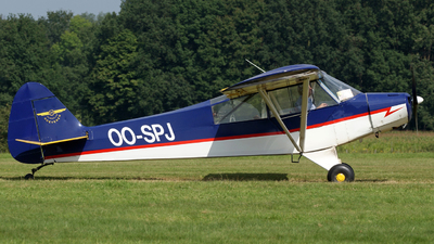 OO-SPJ - Piper PA-18-95 Super Cub - Private
