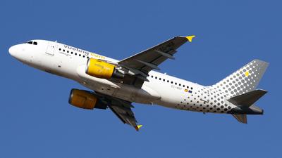 A picture of ECMGF - Airbus A319112 - Vueling - © Javier Rodriguez - Amics de Son Sant Joan