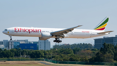 A picture of ETASK - Boeing 777360(ER) - Ethiopian Airlines - © Song Yingqi