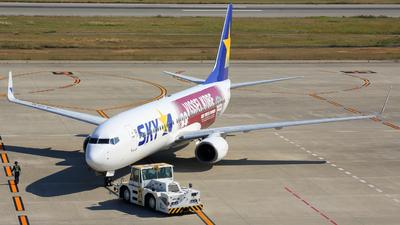 JA737X - Boeing 737-8AL - Skymark Airlines