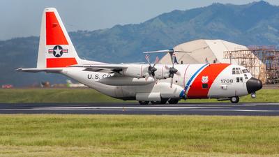 1708 - Lockheed HC-130H Hercules - United States - US Coast Guard (USCG)