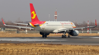 A picture of B8062 - Airbus A320232 - Tianjin Airlines - © SS7D-0027