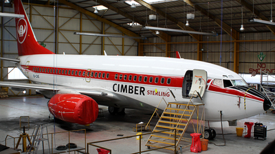 EI-CXE - Boeing 737-76N - Cimber Sterling Airlines