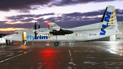 OO-VLM - Fokker 50 - VLM Airlines